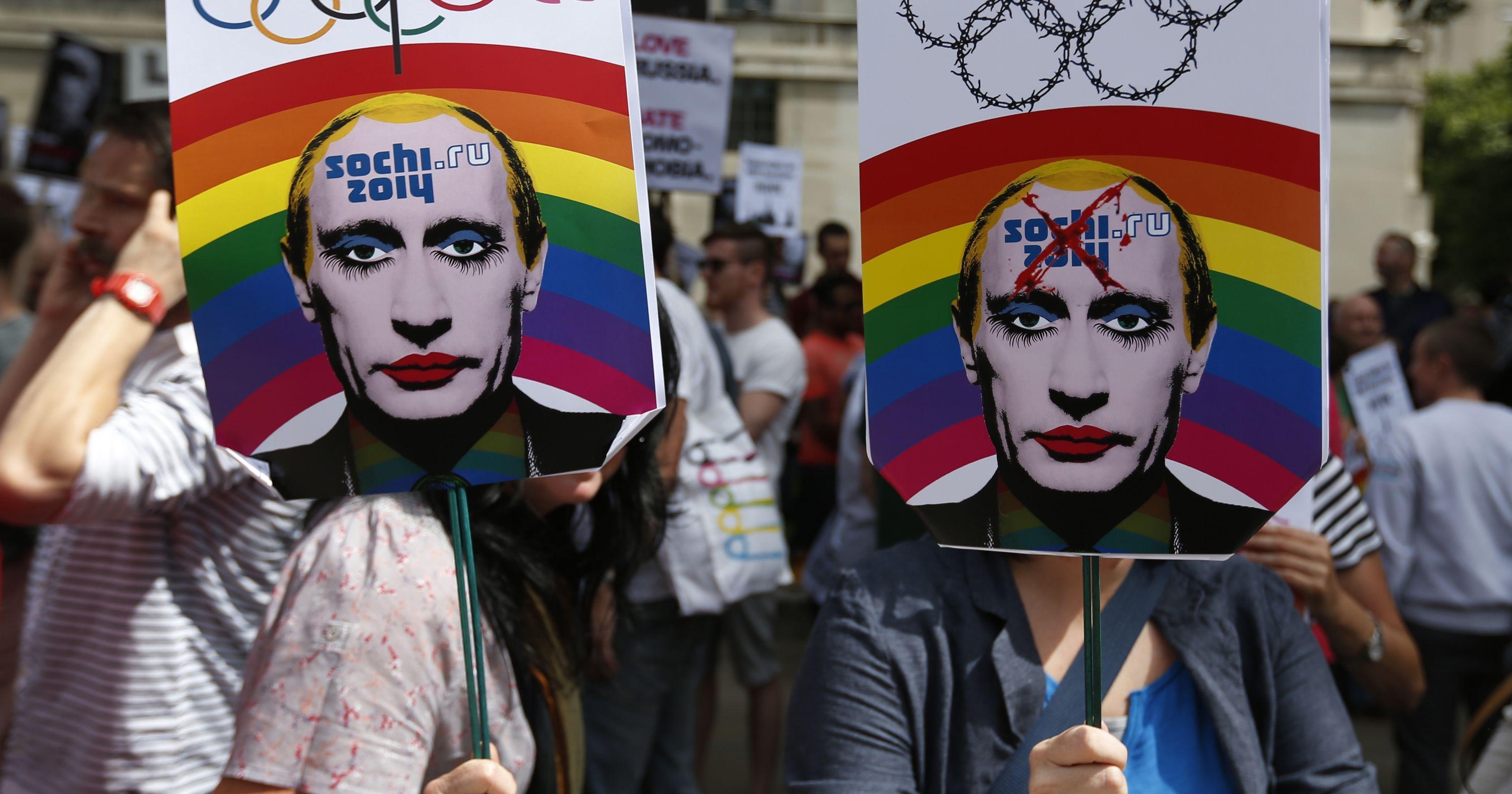 ser gay en rusia