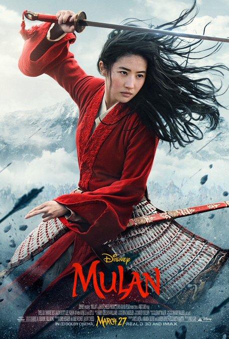 mulan live action poster