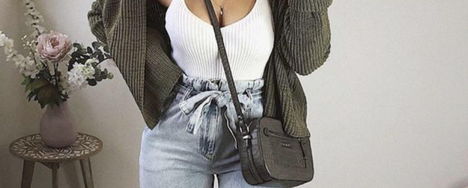 Que Son Los Paper Bag Jeans Y Como Debes Usarlos Moda
