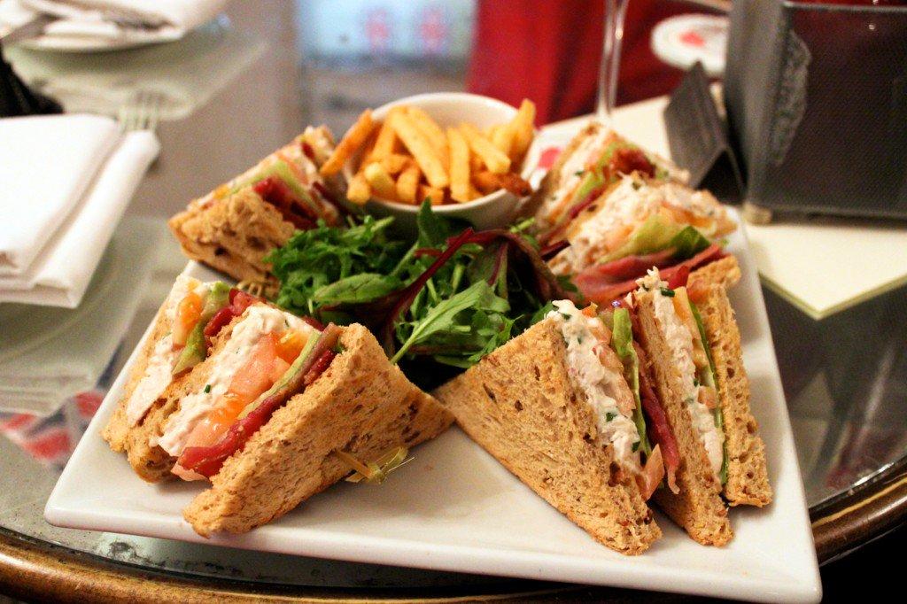 Cenas fáciles y rápidas - Club Sándwich