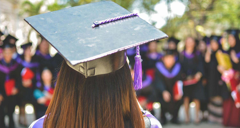 photos of grad caps to celebrate immigration