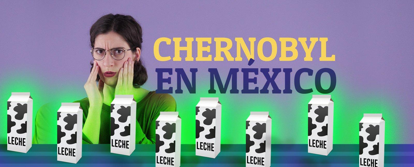 ¿México compró leche radioactiva?