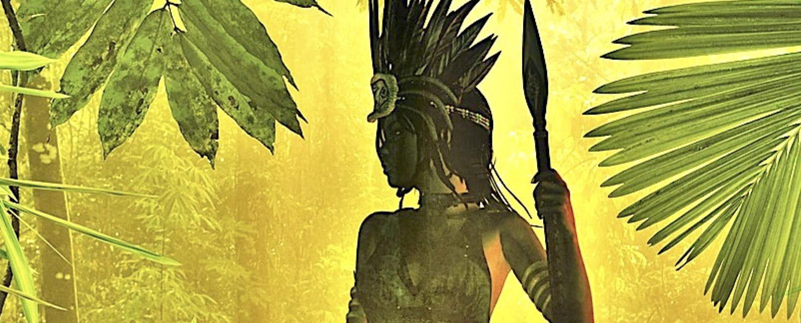 anacaona taino queen chief golden flower haiti biography