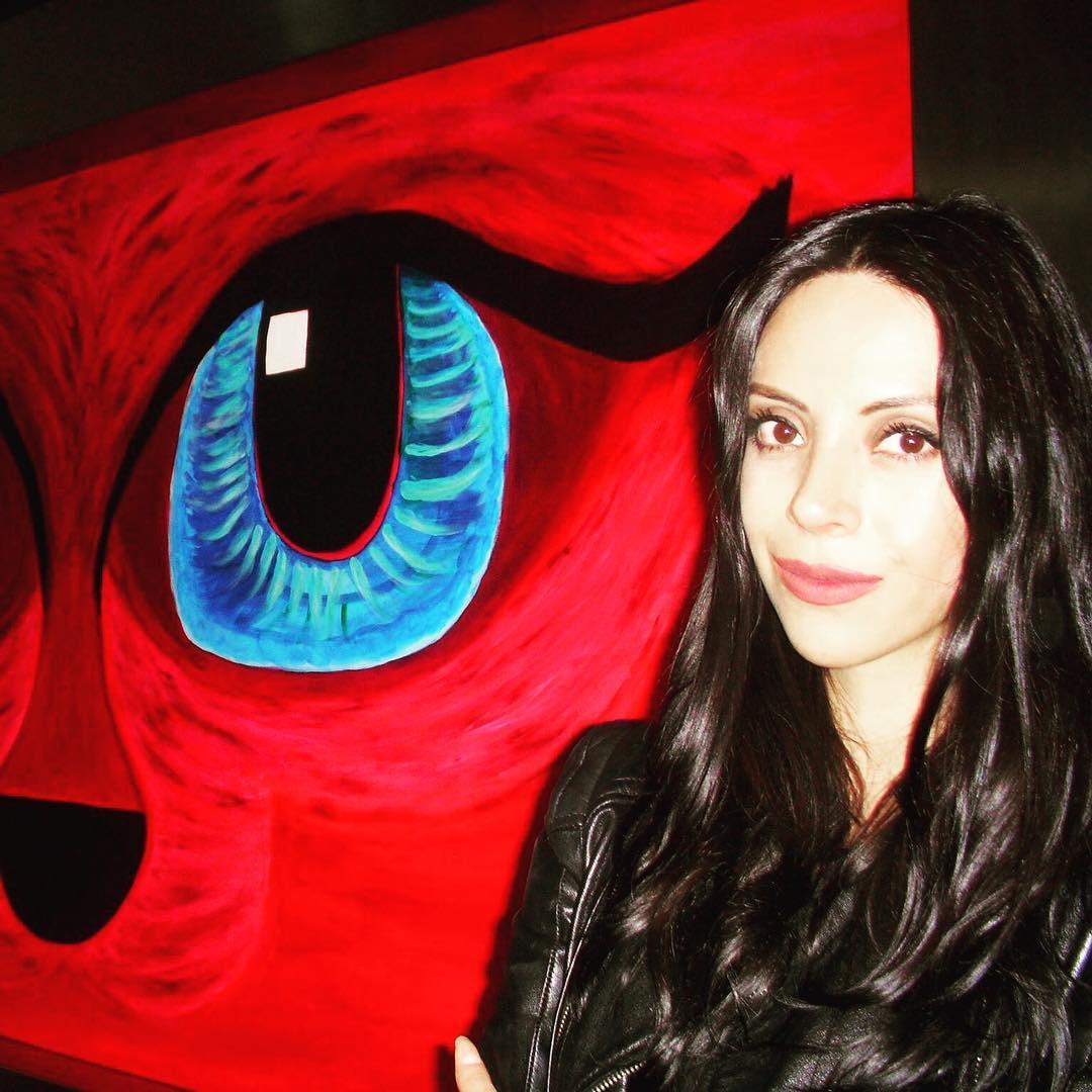 Montserrat Martínez, la artista mexicana en cuarentena