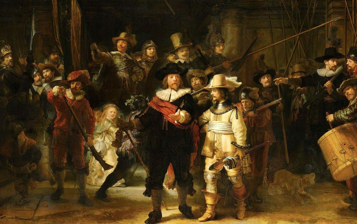 "Secretos detrás de ""La ronda nocturna"" de Rembrandt"