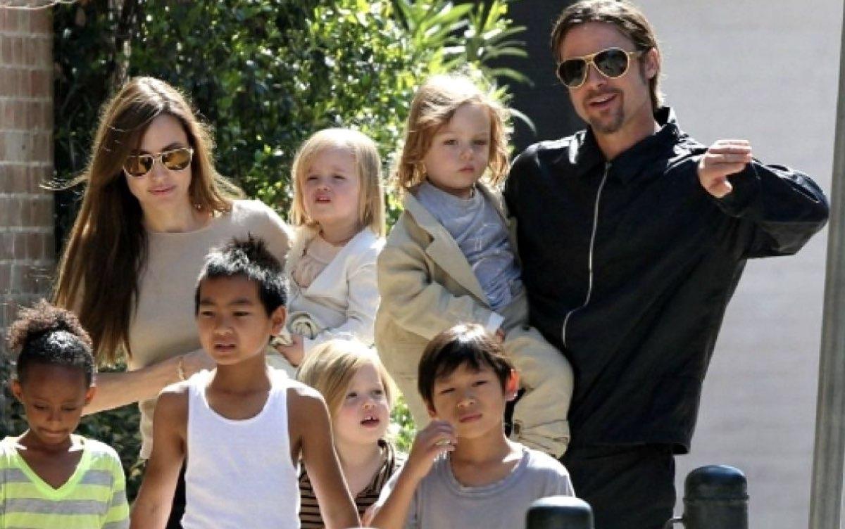 Aseguran que la salud de Angelina Jolie es delicada; captan a Brad Pitt en  su casa - Entretenimiento