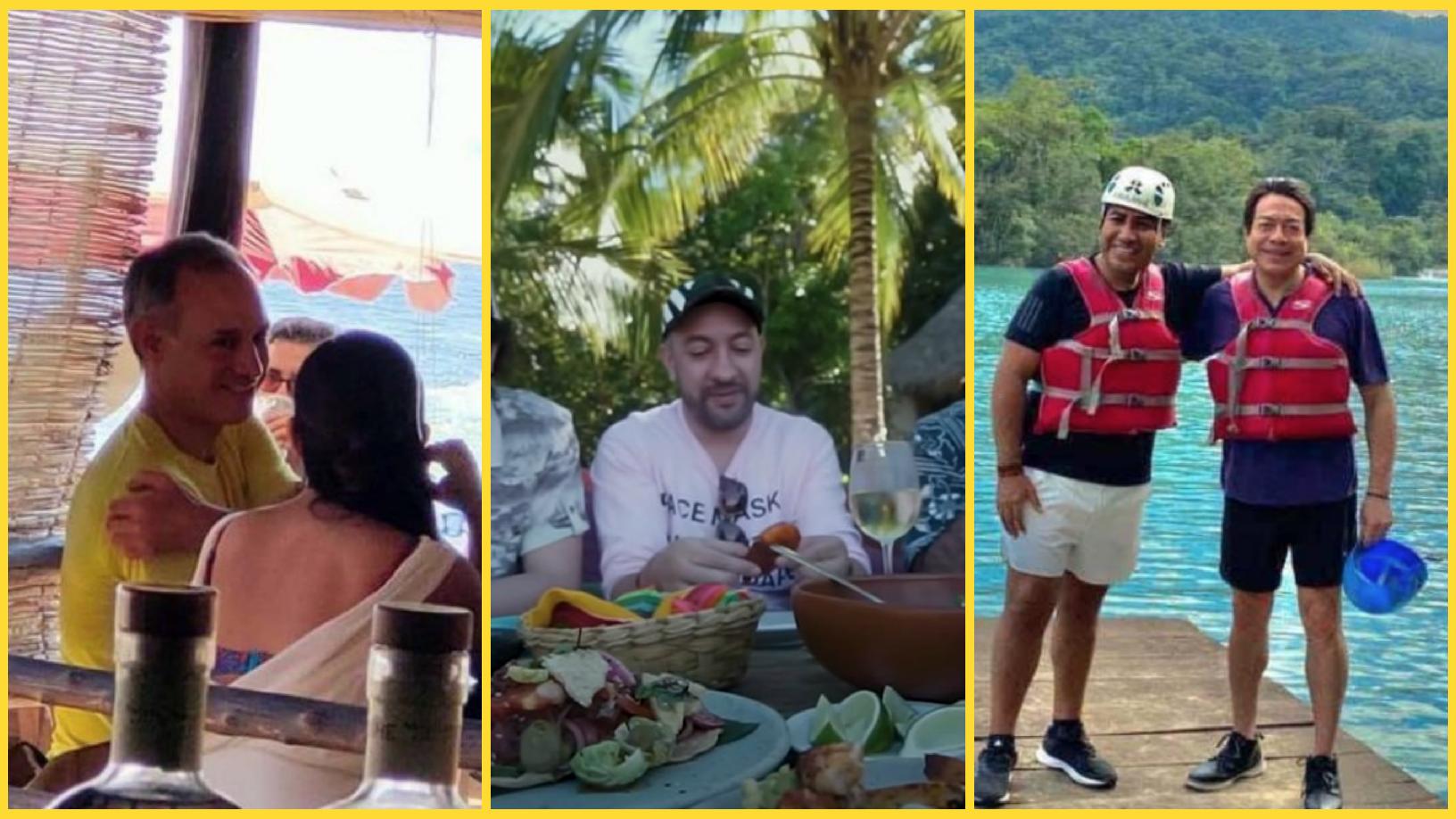 Políticos, turistas e influencers se van de vacaciones y olvidan el  covid-19 - mexico