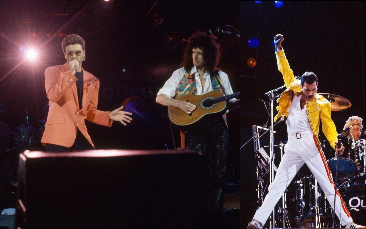 George Michael iba a sustituir a Freddie Mercury en Queen