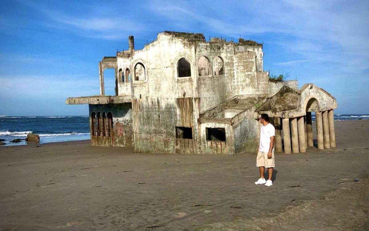 mysterious mansion on the beach la puntilla, el salvador