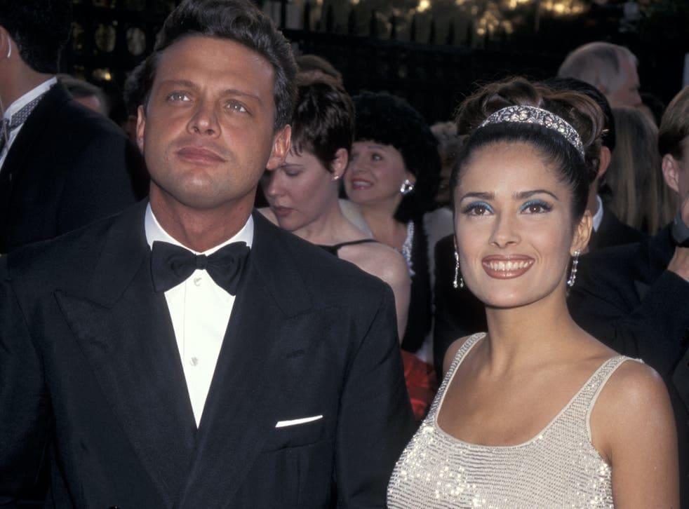 Salma Hayek and Luis Miguel
