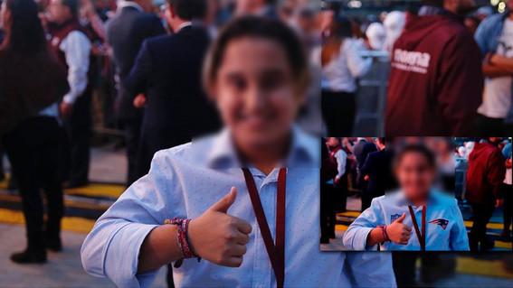 confirman que foto del hijo de amlo en el super bowl es falsa