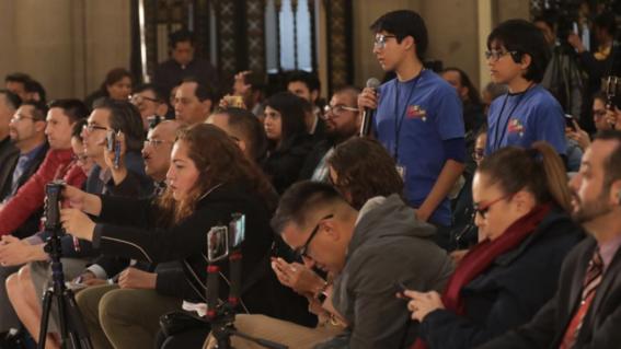 ninos reporteros cuestionan amlo por desapariciones en mexico