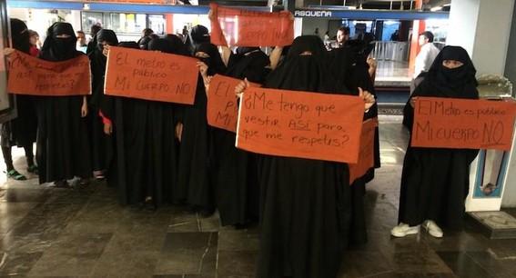 acoso sexual en el metro termina en paginas porno