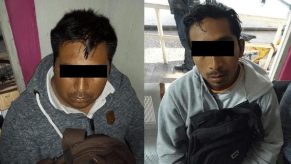 detienen a dos por intento de secuestro en el metro