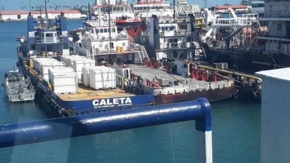 aseguran barco con huachicol en campeche