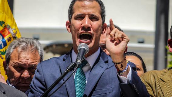 juan guaido en venezuela