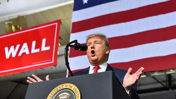 donald trump muro fronterizo