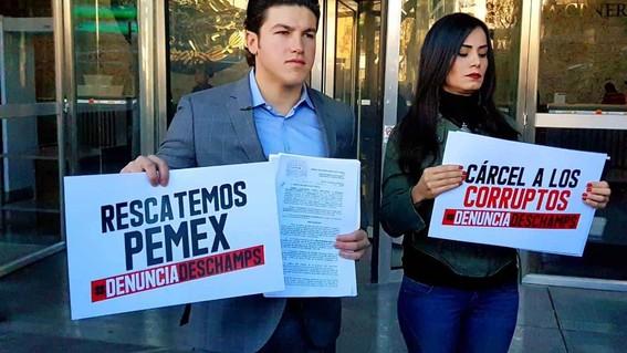 presentan senadores de mc denuncia contra romero deschamps