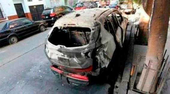 camioneta quemada en pelicula roma de alfonso cuaron