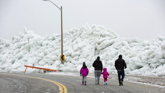 tsunami de hielo en eua