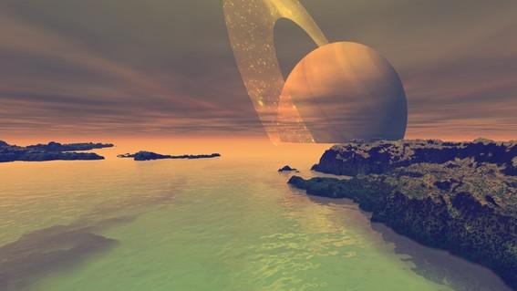 vida alienigena en luna titan de saturno