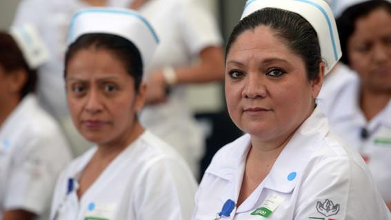 alemania contratara enfermeras mexicanos 38 mil pesos mensuales