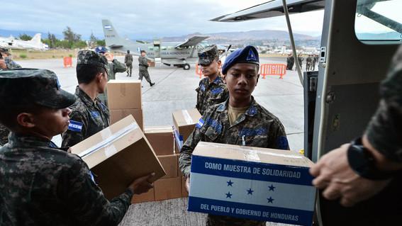 ayuda humanitaria de honduras a venezuela