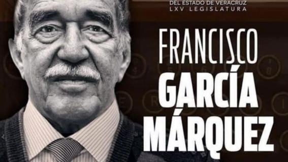 congreso veracruz felicita escritor mexicano francisco garcia marquez