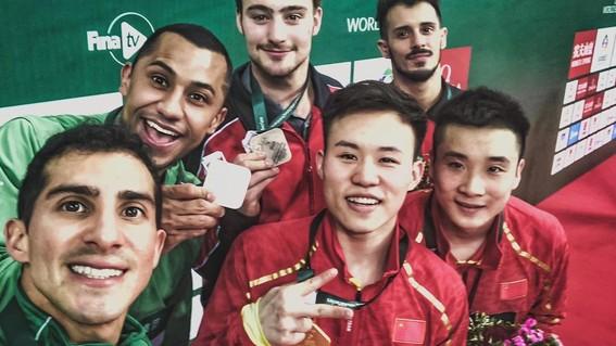 rommel pacheco y jahir ocampo ganan otra medalla de plata en mundial