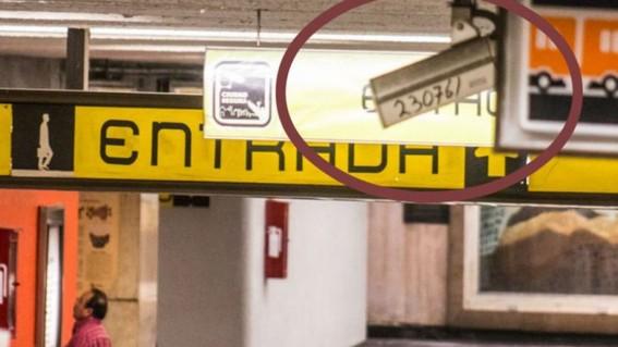 revelan que 64 por ciento de las camaras del metro no funcionan