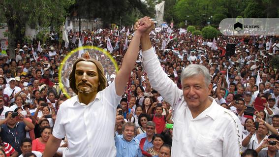 amlo queria dar a iglesia canales tv para moralizar mexico