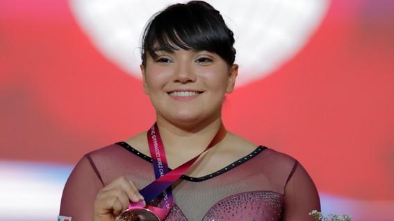 alexa moreno gana bronce en mundial de gimnasia