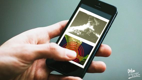 app sismos y volcanes cdmx  unam
