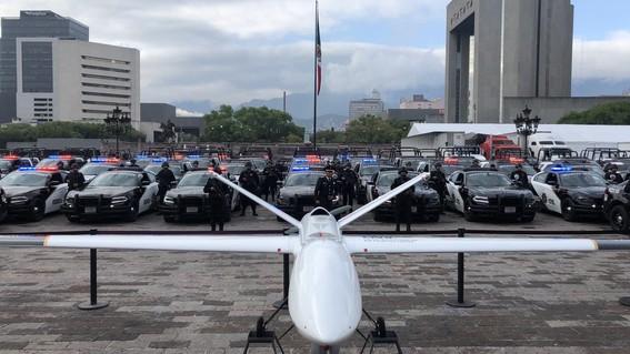 gastan 54 mdp en dron de seguridad en nuevo leon