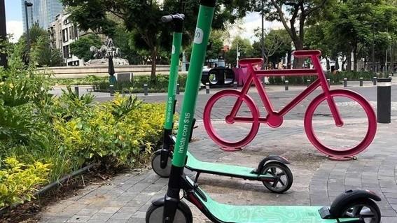 bicicletas y monopatines de la cdmx