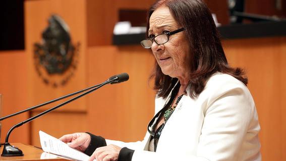 satrapas ratas cabrones asi reclama senadora de morena a opositores