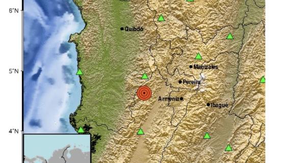 temblor de 60 en suroeste de colombia
