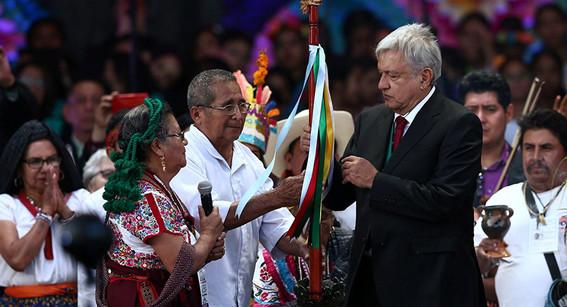 amlo pedira perdon a indigenas por represion del gobierno