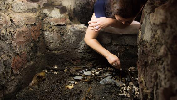 encuentran ofrendas en cdmx que llevarian a tumba de emperador azteca