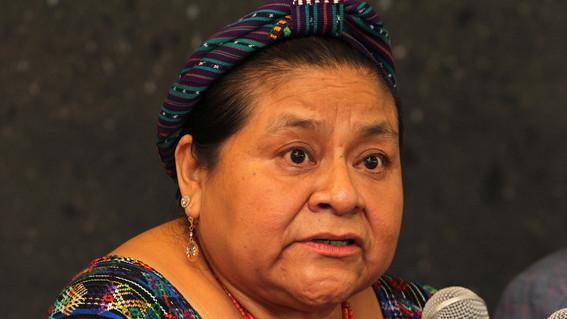 rigoberta menchu califica como historia inconclusa el perdon a indigenas
