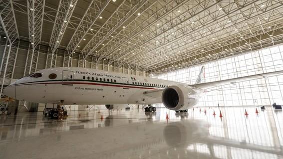 inicia proceso de venta del avion presidencial
