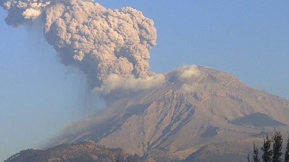preparan simulacro de erupcion volcanica