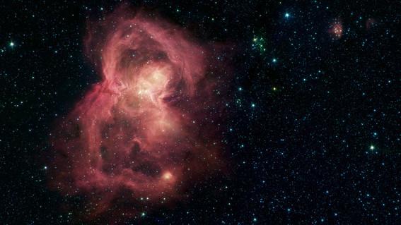 nasa captura fotografia de mariposa espacial