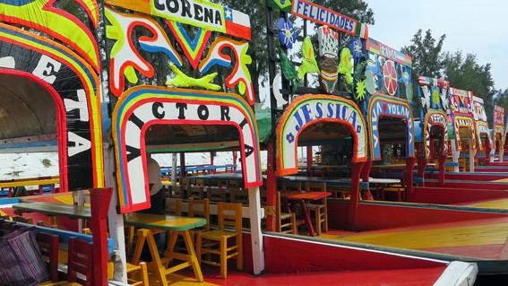 presumen trajineras con wifi gratis en xochimilco