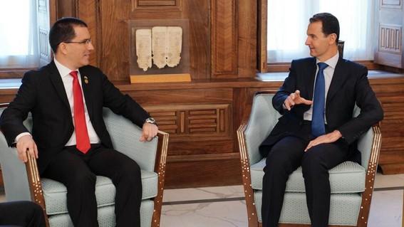 bashar al assad compara situacion de siria con venezuela