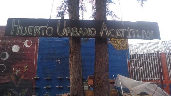huerto urbano acatitla