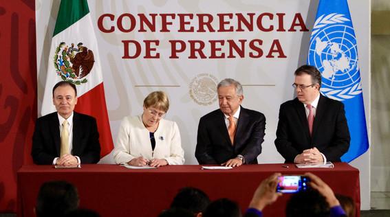 mexico y onu firman acuerdo de derechos humanos para la guardia nacional
