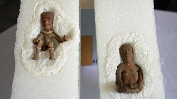México recupera piezas arqueológicas con ayuda del FBI