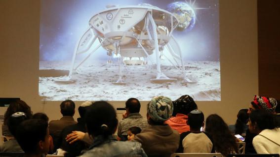 primera sonda israeli se estrella durante alunizaje