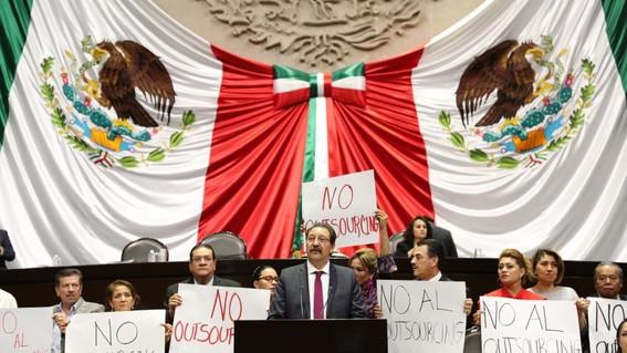diputados avalan en lo general reforma laboral que permite libertad sindical